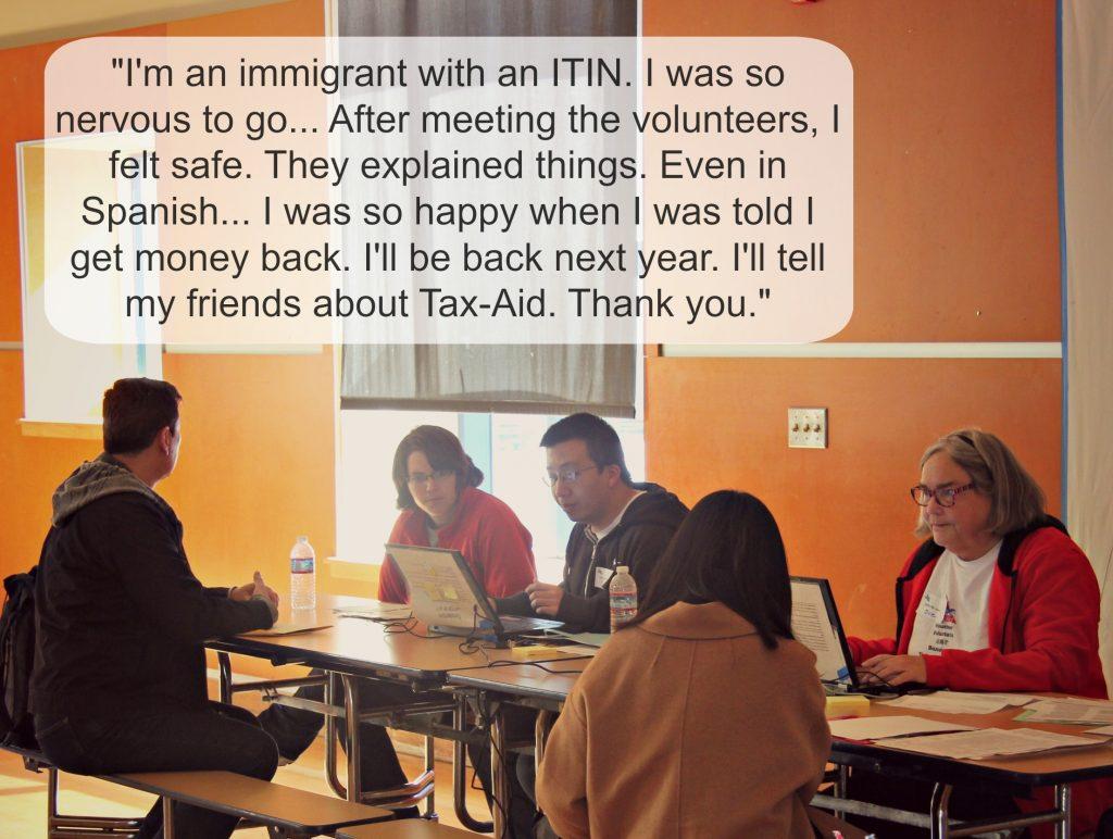 Bay Area tax assistance testimonial